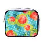 Red Cherries Mini Toiletries Bags Front