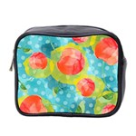 Red Cherries Mini Toiletries Bag 2-Side Front