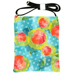 Red Cherries Shoulder Sling Bags