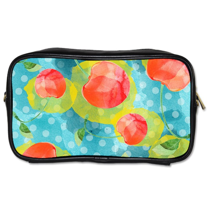 Red Cherries Toiletries Bags