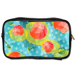 Red Cherries Toiletries Bags 2-Side