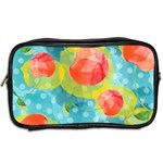 Red Cherries Toiletries Bags 2-Side Back