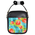 Red Cherries Girls Sling Bags Front