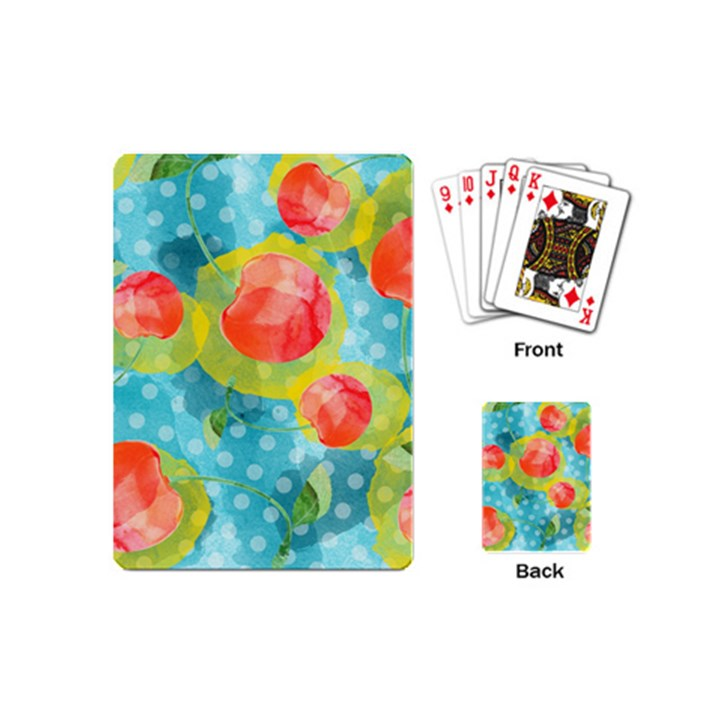 Red Cherries Playing Cards (Mini)