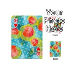 Red Cherries Playing Cards 54 (Mini)  Front - Heart10