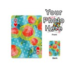 Red Cherries Playing Cards 54 (Mini)  Front - HeartQ