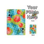 Red Cherries Playing Cards 54 (Mini)  Front - Spade8