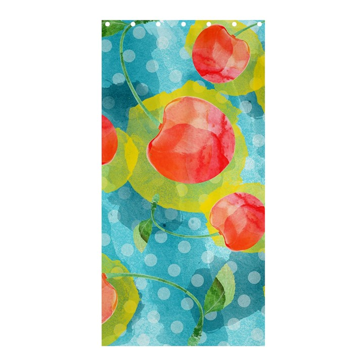 Red Cherries Shower Curtain 36  x 72  (Stall)