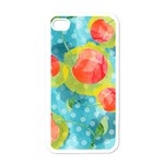 Red Cherries Apple iPhone 4 Case (White) Front
