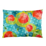 Red Cherries Pillow Case (Two Sides) Back