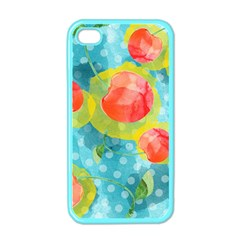 Red Cherries Apple iPhone 4 Case (Color)