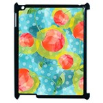 Red Cherries Apple iPad 2 Case (Black) Front