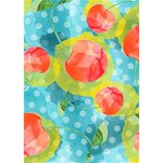 Red Cherries Clover 3D Greeting Card (7x5) Inside