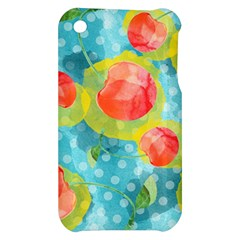 Red Cherries Apple iPhone 3G/3GS Hardshell Case