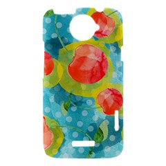 Red Cherries HTC One X Hardshell Case