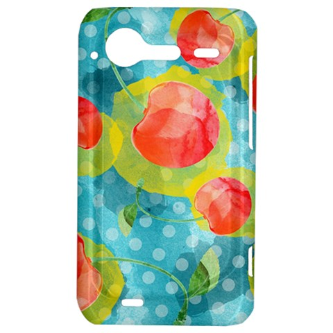 Red Cherries HTC Incredible S Hardshell Case