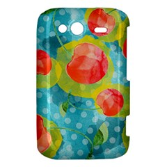 Red Cherries HTC Wildfire S A510e Hardshell Case