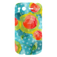 Red Cherries HTC Desire S Hardshell Case