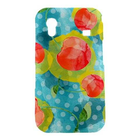 Red Cherries Samsung Galaxy Ace S5830 Hardshell Case