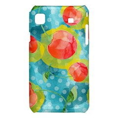 Red Cherries Samsung Galaxy S i9008 Hardshell Case