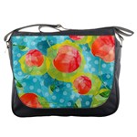 Red Cherries Messenger Bags Front