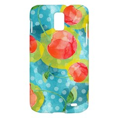 Red Cherries Samsung Galaxy S II Skyrocket Hardshell Case