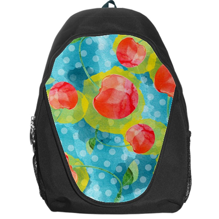 Red Cherries Backpack Bag