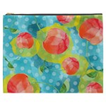 Red Cherries Cosmetic Bag (XXXL)  Front