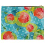 Red Cherries Cosmetic Bag (XXXL)  Back