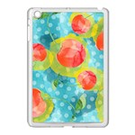 Red Cherries Apple iPad Mini Case (White) Front