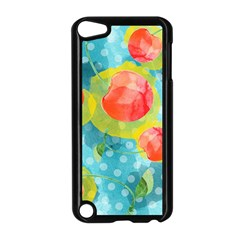 Red Cherries Apple iPod Touch 5 Case (Black)