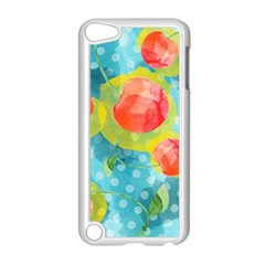 Red Cherries Apple iPod Touch 5 Case (White)