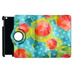 Red Cherries Apple iPad 3/4 Flip 360 Case Front