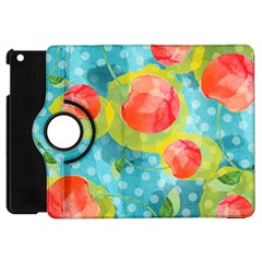 Red Cherries Apple iPad Mini Flip 360 Case