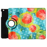 Red Cherries Apple iPad Mini Flip 360 Case Front