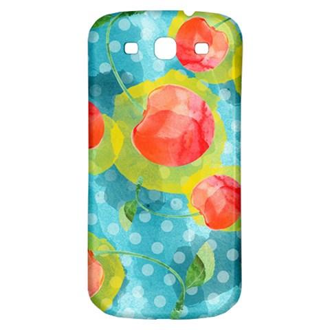 Red Cherries Samsung Galaxy S3 S III Classic Hardshell Back Case