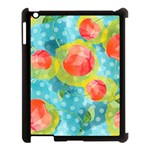 Red Cherries Apple iPad 3/4 Case (Black) Front