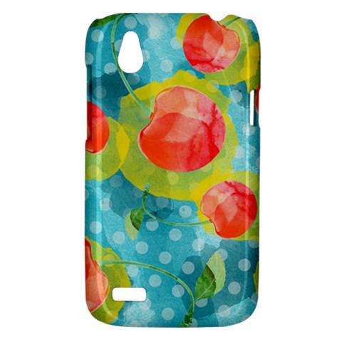 Red Cherries HTC Desire V (T328W) Hardshell Case