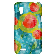 Red Cherries HTC Desire VT (T328T) Hardshell Case