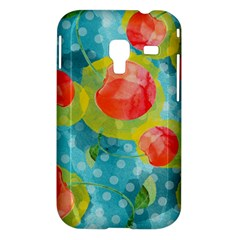 Red Cherries Samsung Galaxy Ace Plus S7500 Hardshell Case