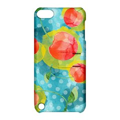 Red Cherries Apple Ipod Touch 5 Hardshell Case With Stand