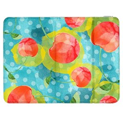Red Cherries Samsung Galaxy Tab 7  P1000 Flip Case