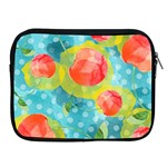 Red Cherries Apple iPad 2/3/4 Zipper Cases Front