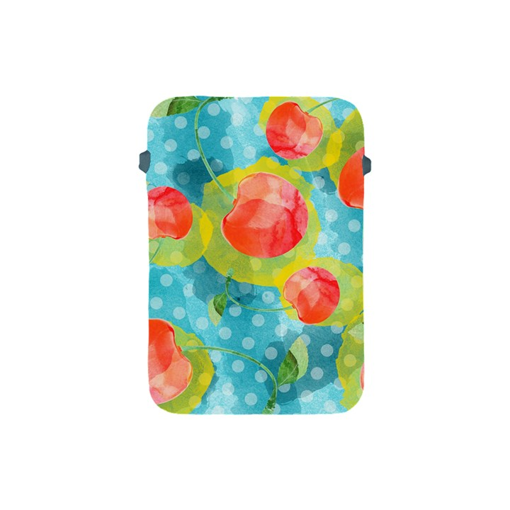 Red Cherries Apple iPad Mini Protective Soft Cases