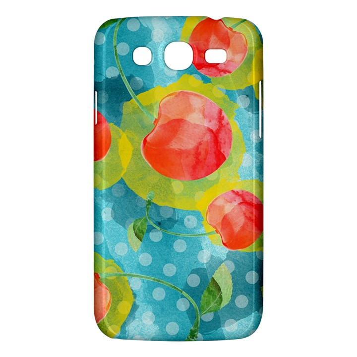 Red Cherries Samsung Galaxy Mega 5.8 I9152 Hardshell Case