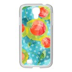 Red Cherries Samsung GALAXY S4 I9500/ I9505 Case (White) Front
