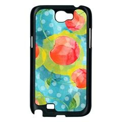 Red Cherries Samsung Galaxy Note 2 Case (Black)