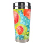 Red Cherries Stainless Steel Travel Tumblers Right