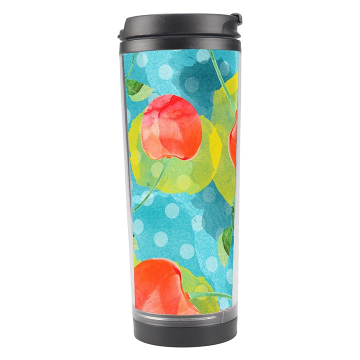 Red Cherries Travel Tumbler