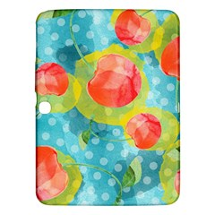 Red Cherries Samsung Galaxy Tab 3 (10 1 ) P5200 Hardshell Case